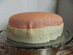 gâteau gènoise et crème pâtissière boite à bijou