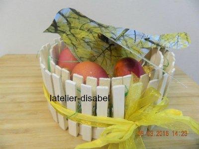 oeufs de paques ,les colorier et les remplir